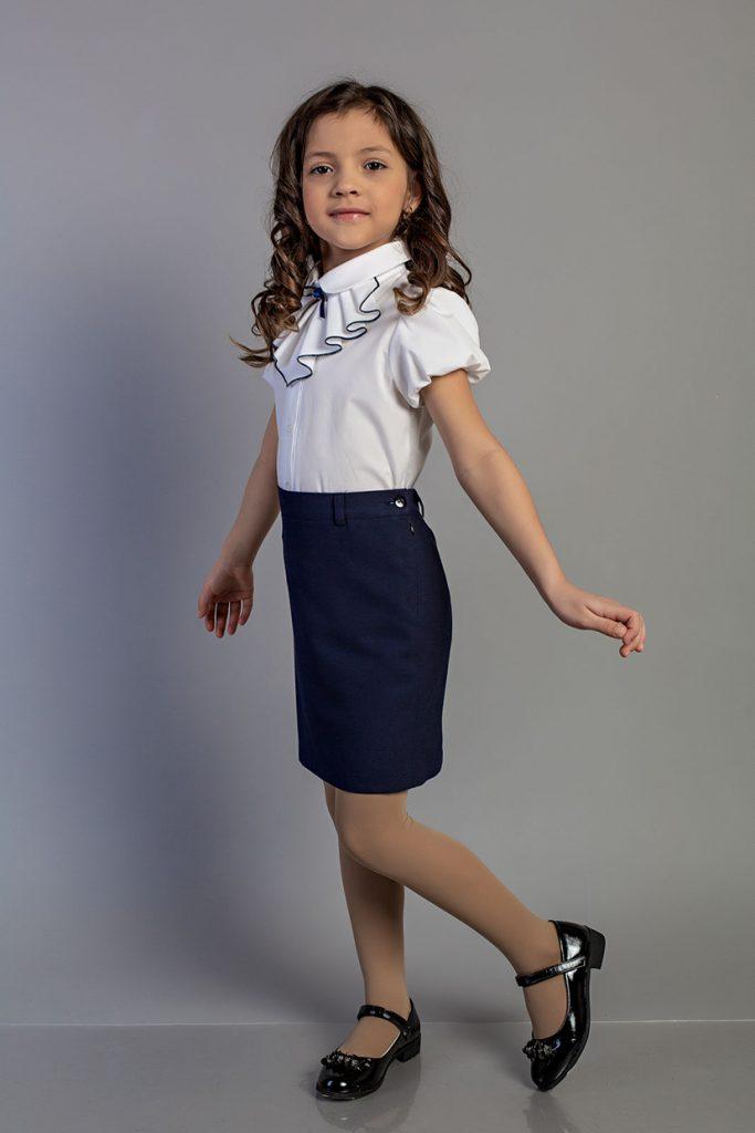 Юбка школьная Д 5153