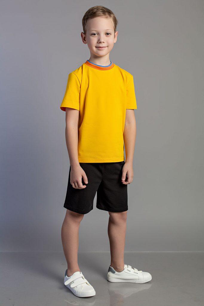 Футболка цветная М 400-2